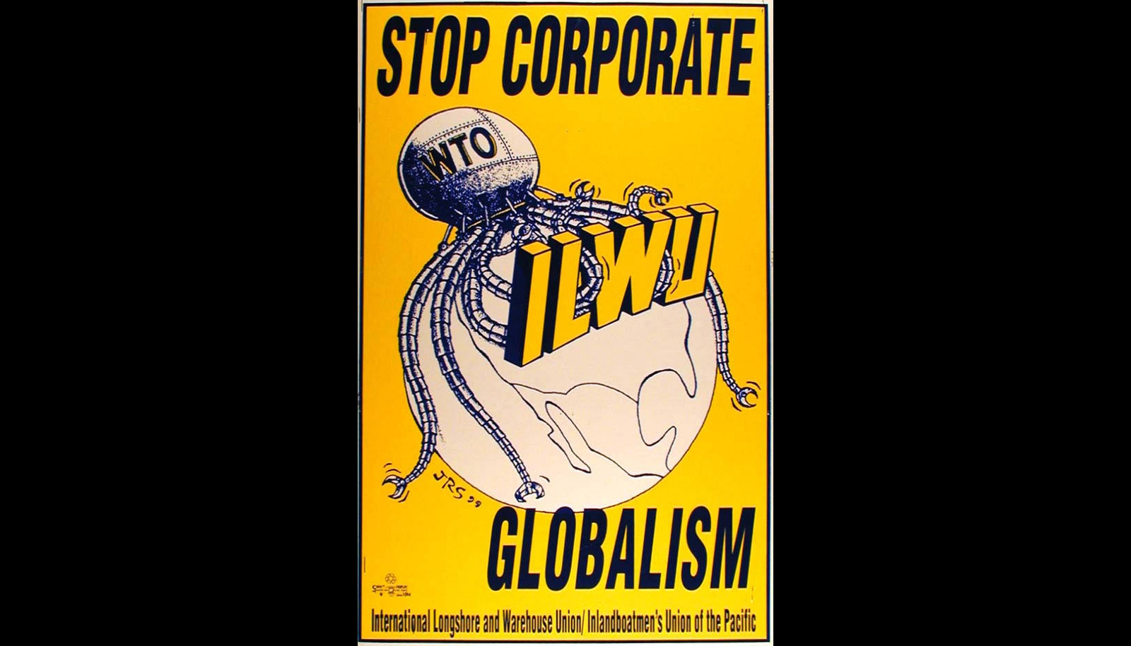anti-WTO poster