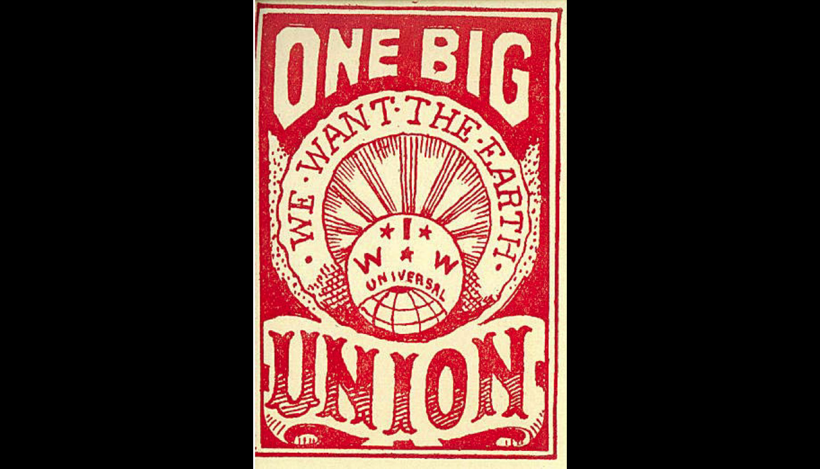 one big union sticker