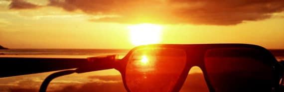 sunglasses sun shield (Parker Solar Probe concept)