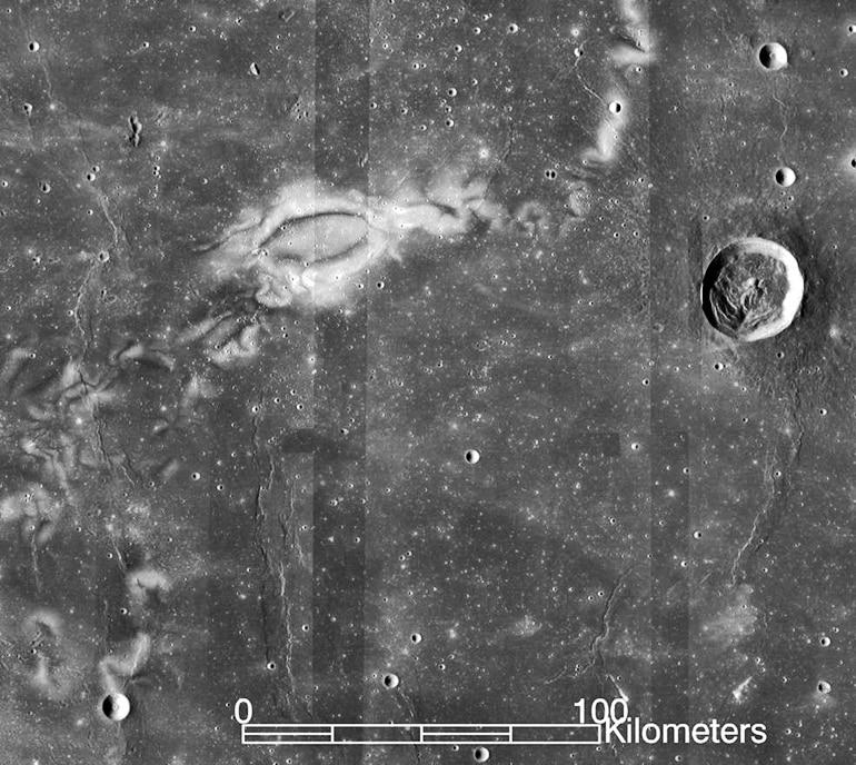 The Reiner Gamma (lunar swirls concept)