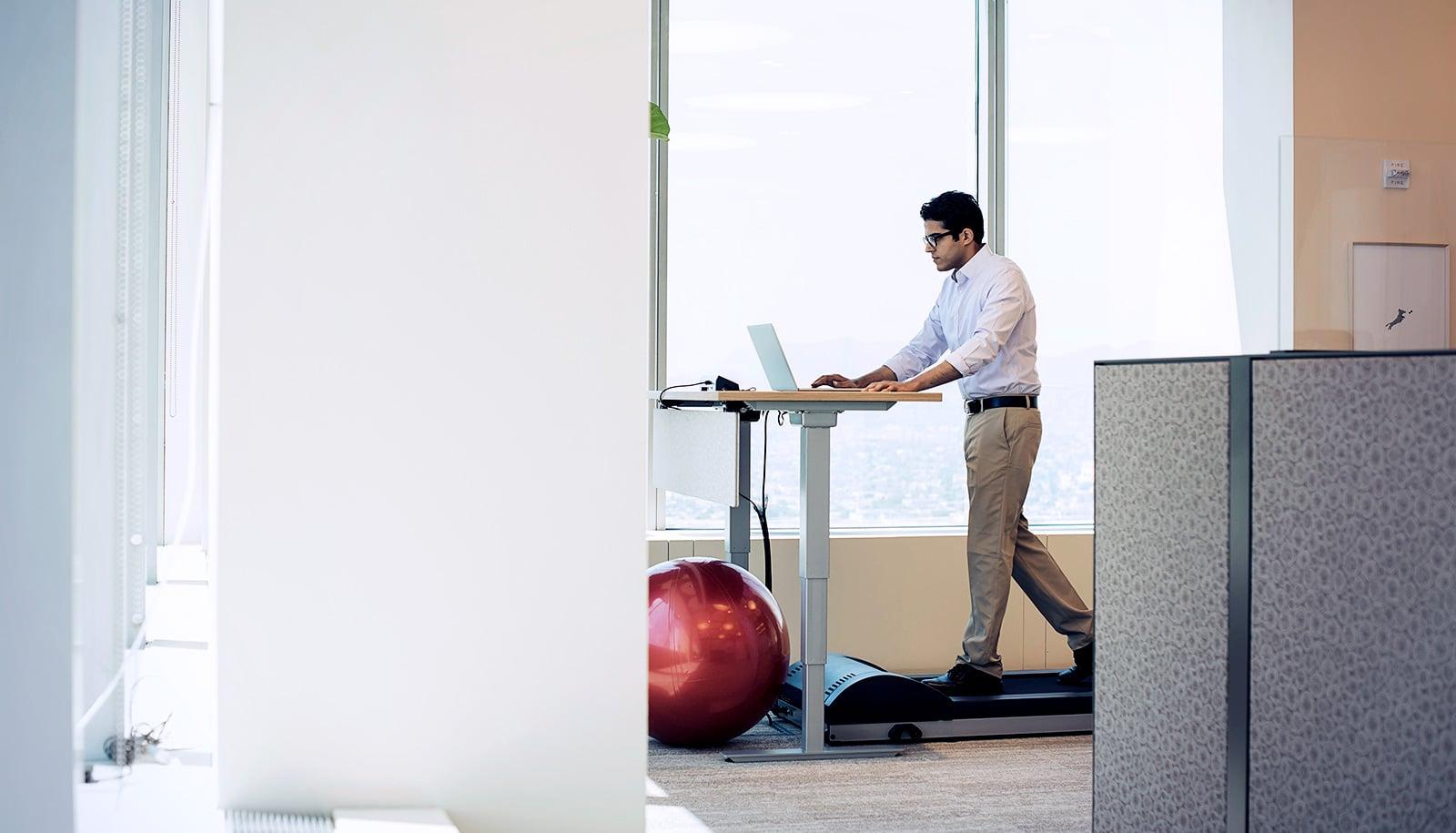 Treadmill desks can hamstring your memory