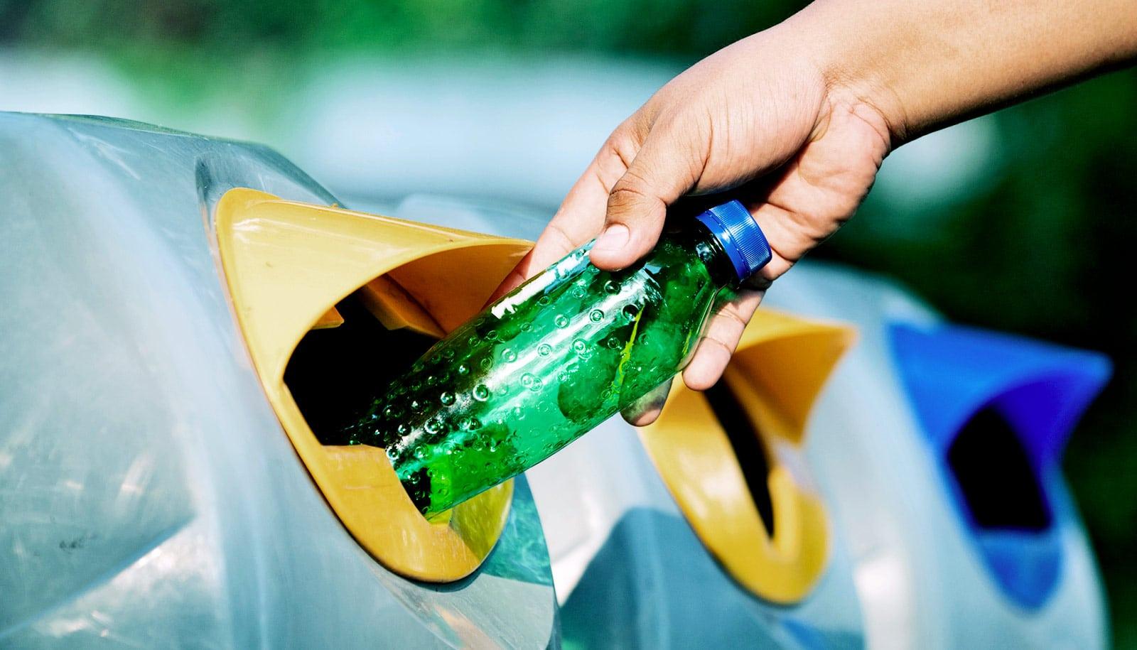 Method Turns Plastic Bottle Waste Into Lightweight
