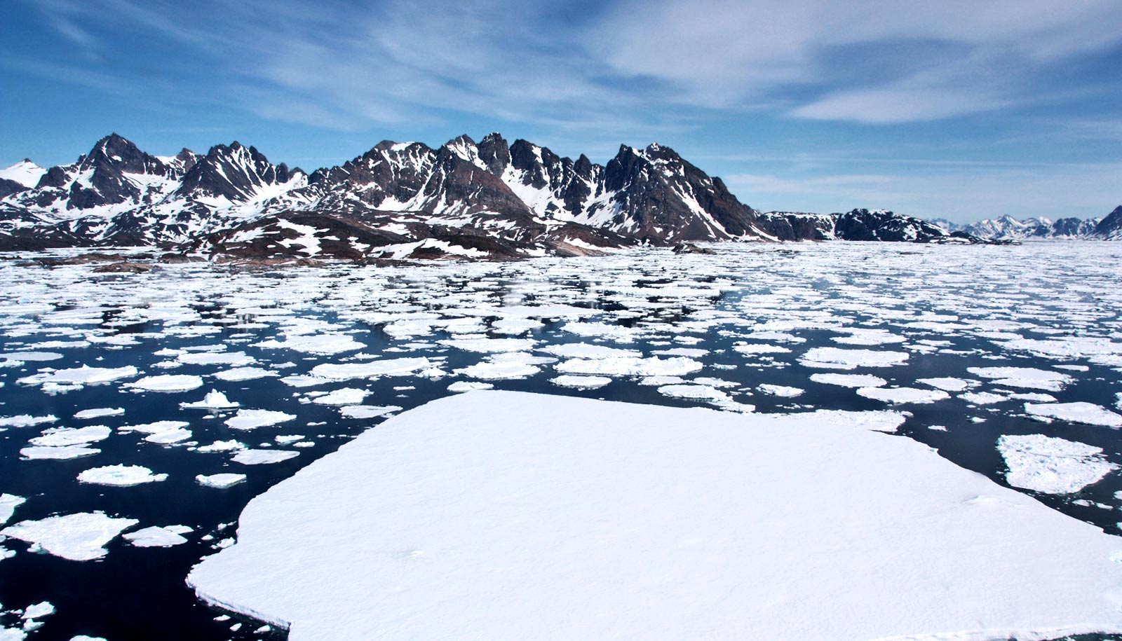 Weird winds to blame for Greenland's huge water patch - Futurity