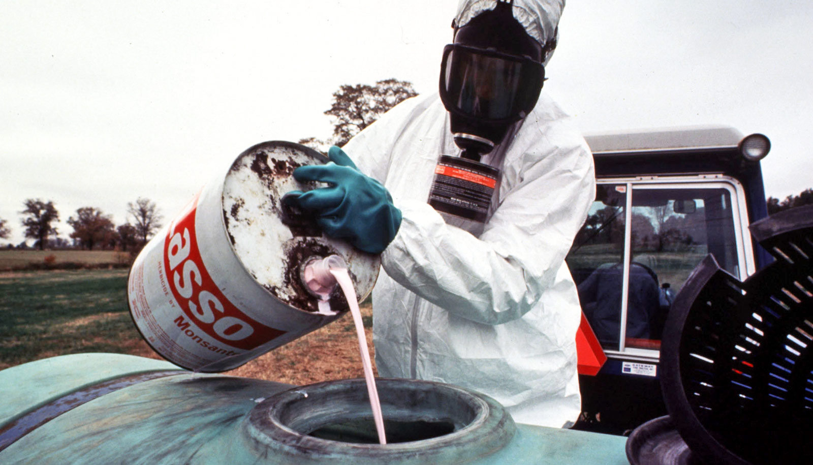 Poor sense of smell may result from pesticide 'events'