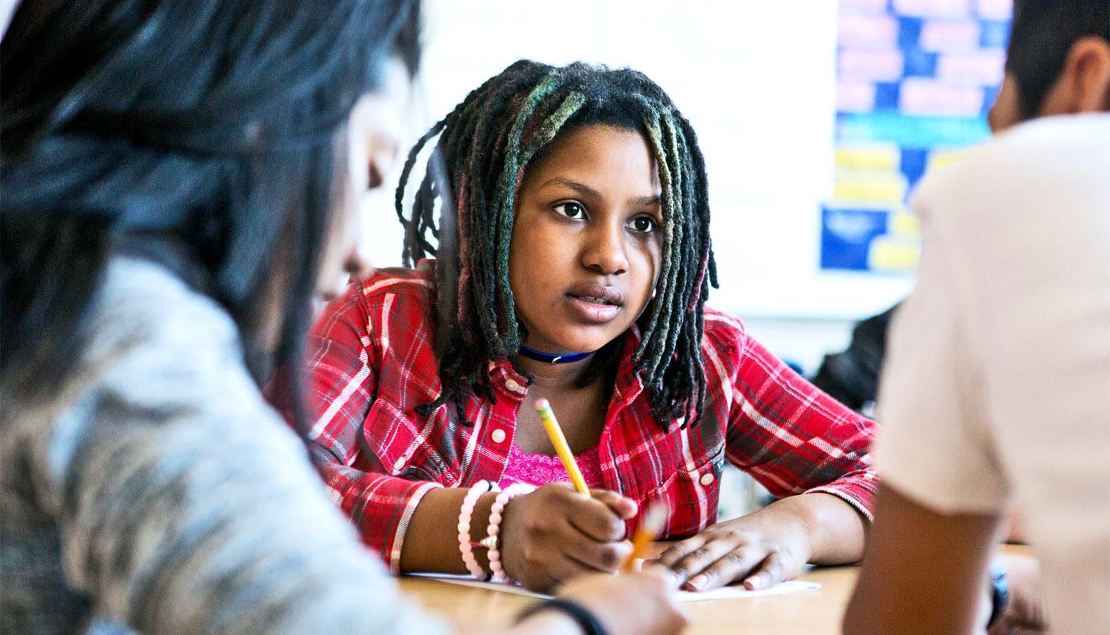 Bonds with teachers boost interest in math class