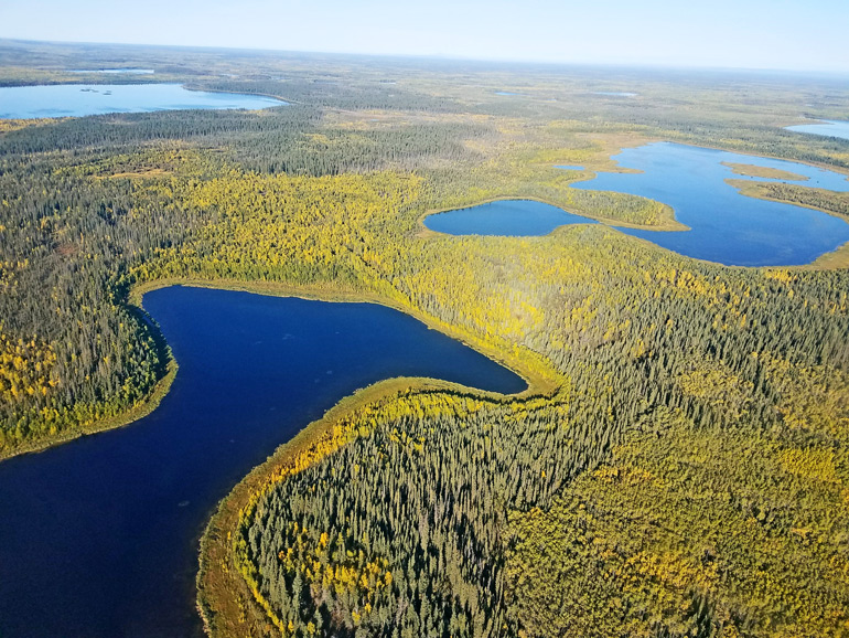Yukon Flats lake