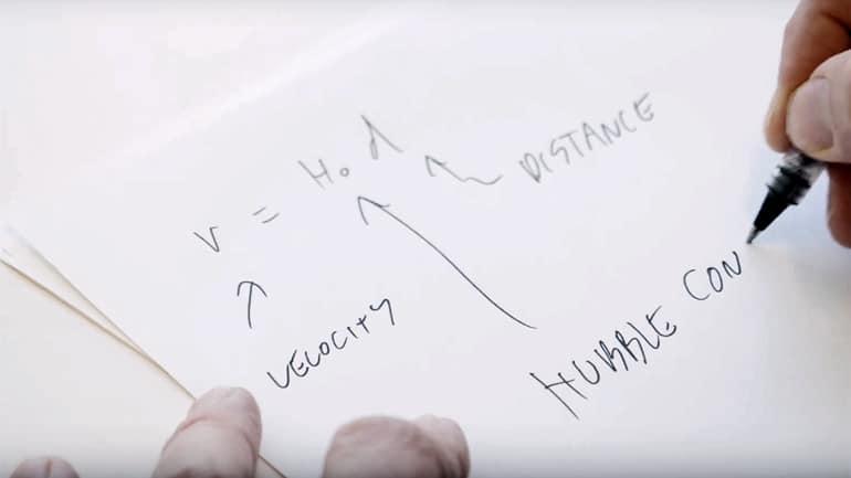 Hubble constant on paper