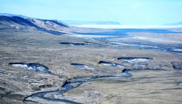 arctic permafrost degredation