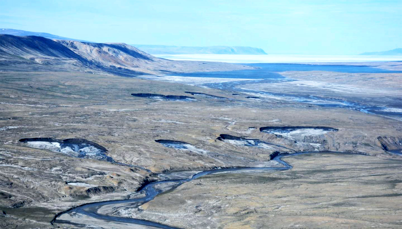 Permafrost melt is transforming the Arctic landscape