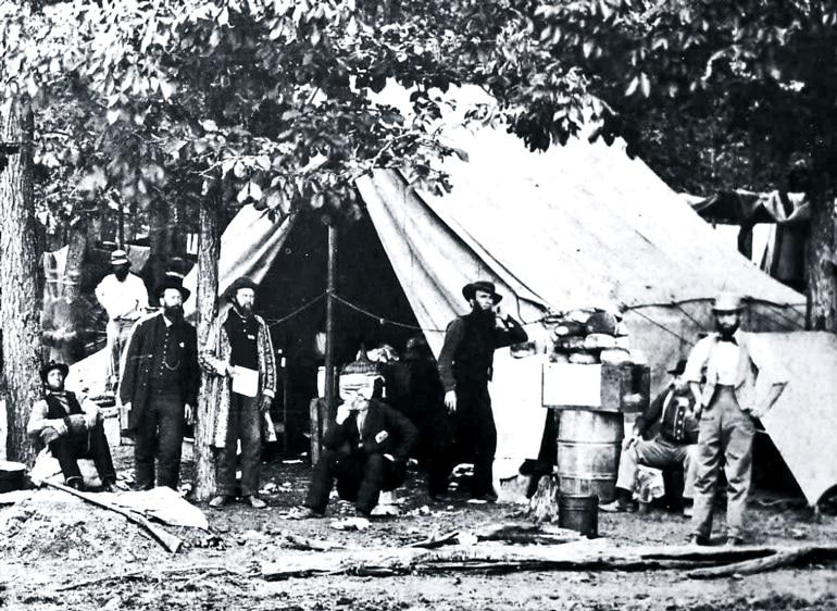 field hospital at Gettysburg