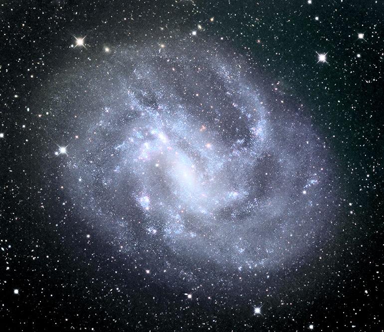 NGC 4395 galaxy