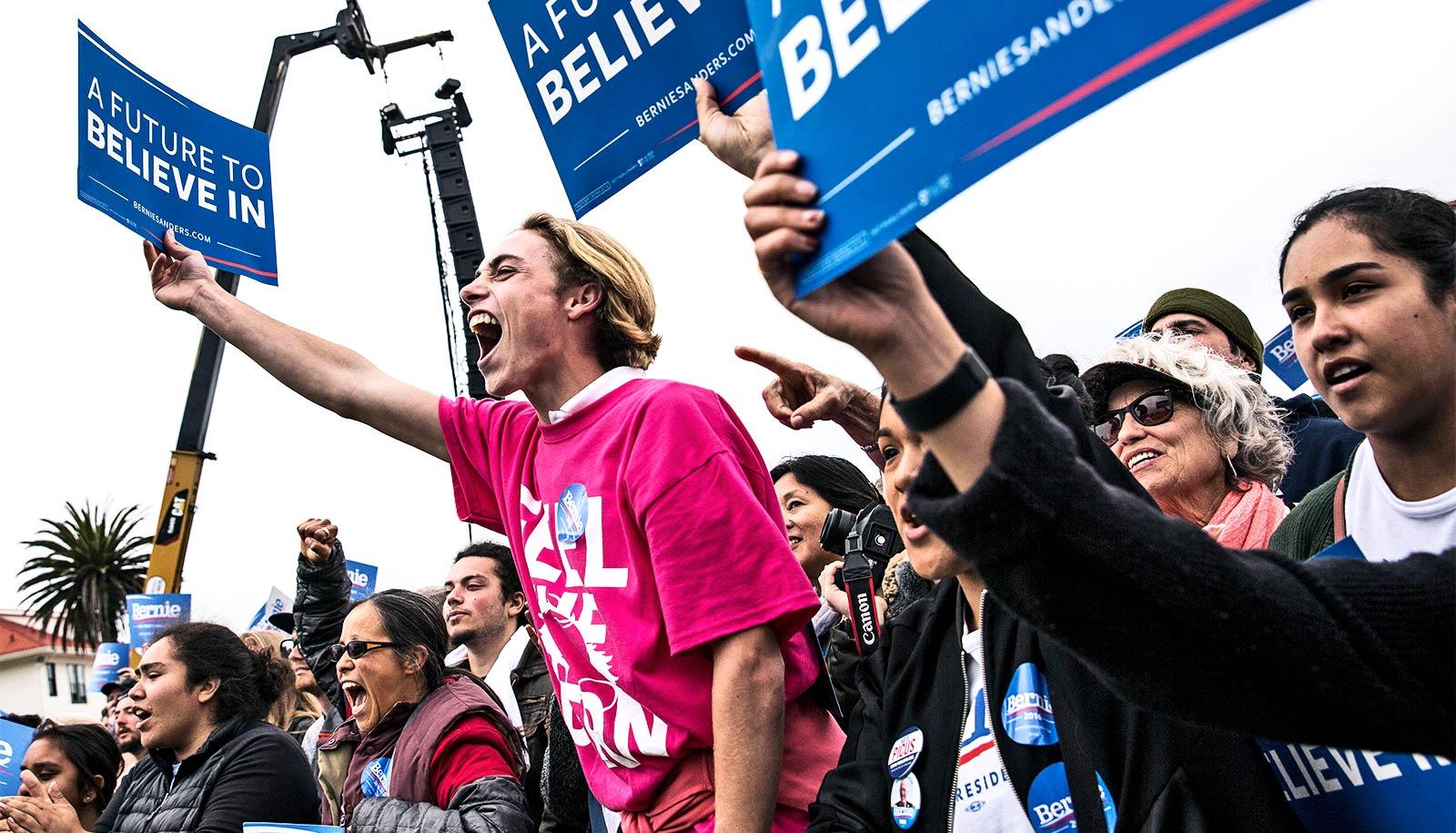 Voters weren't choosing 'momentum' in 2016 primaries