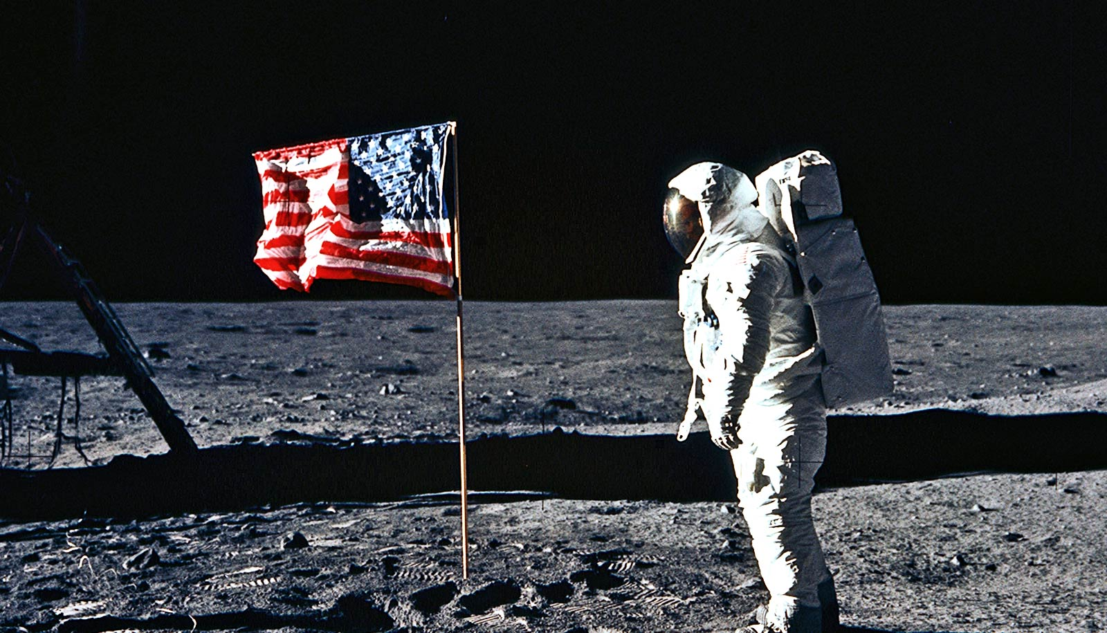 Why planting a flag on the moon was so hard