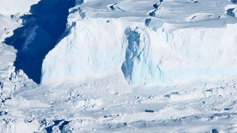 Thwaites Glacier's outer edge.