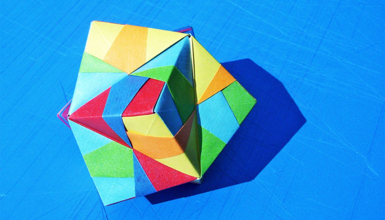 origami structure (protein origami concept)