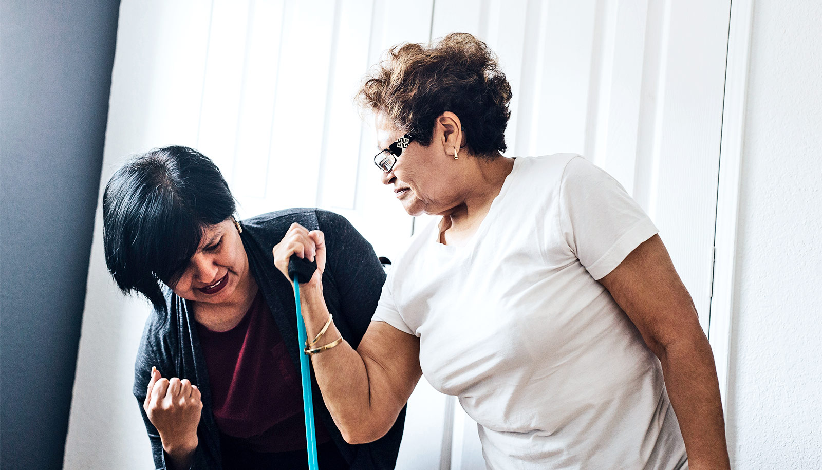 Goals boost recovery for older adults in physical therapy
