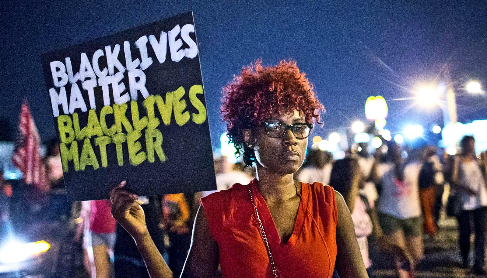 Stories offer protesters' views of Ferguson, Baltimore police