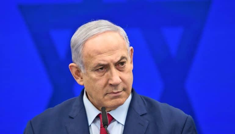 Netanyah looking concerned