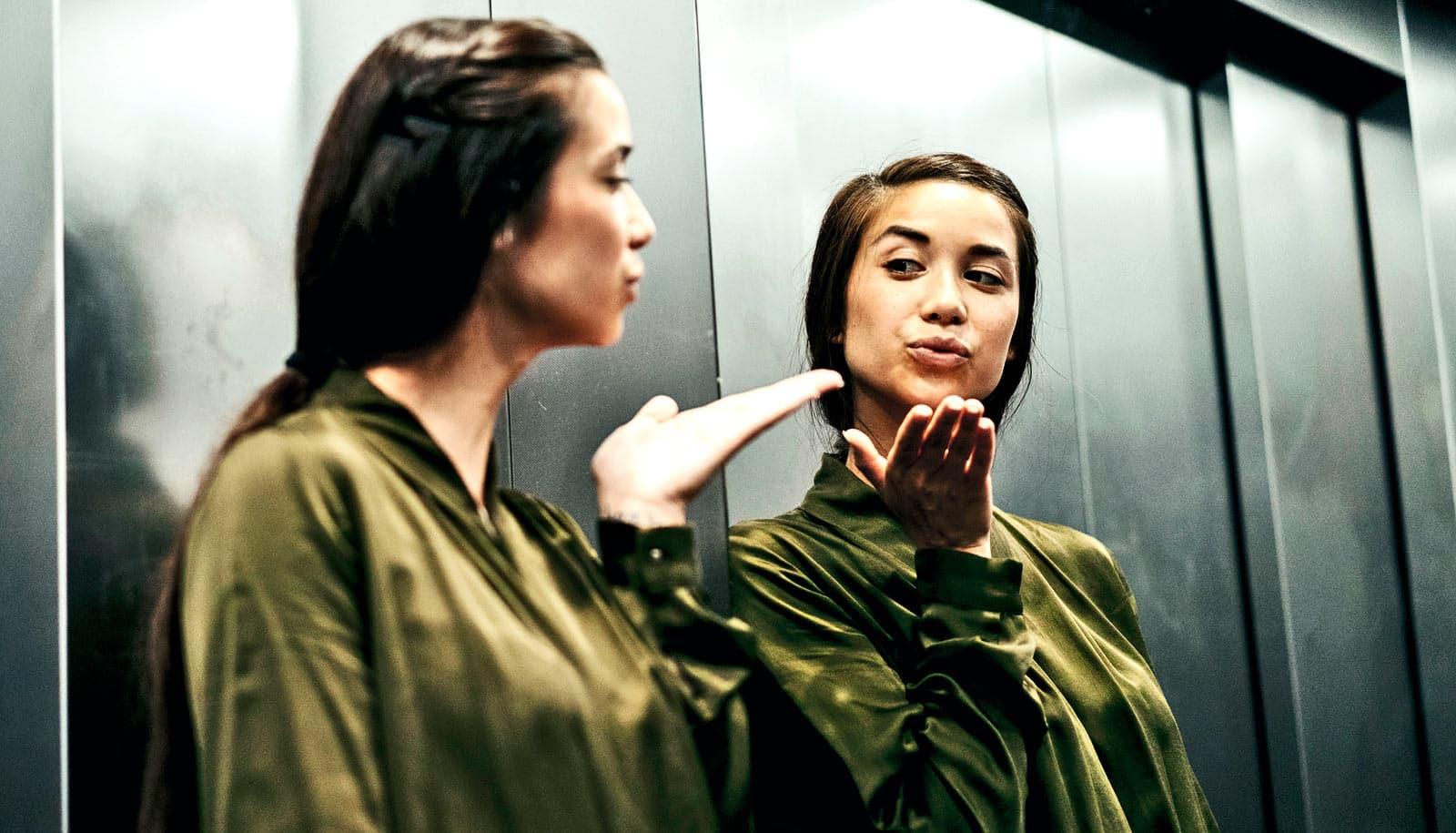 Narcissism declines as we get older