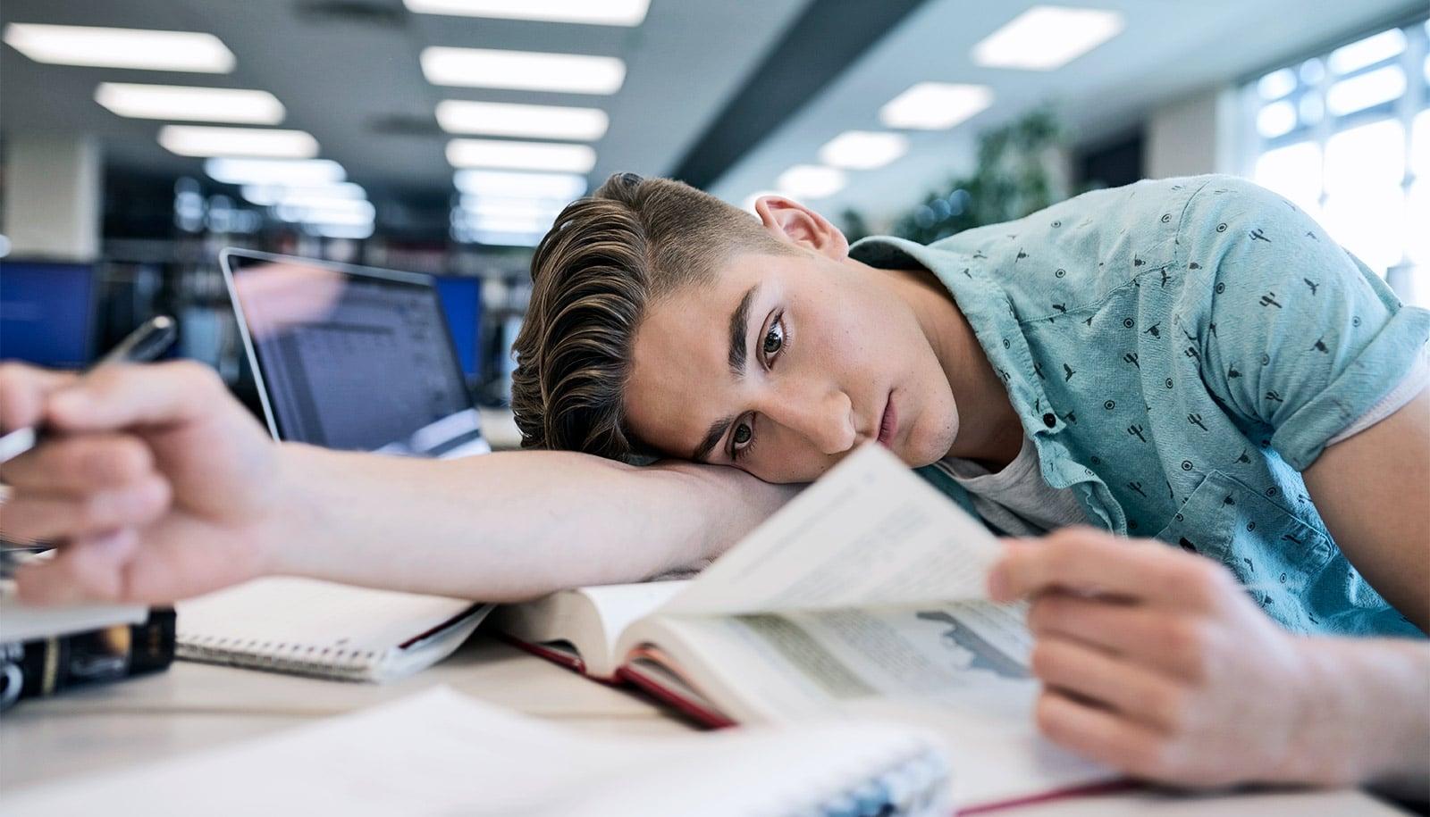 A bit more sleep cuts college student blood pressure