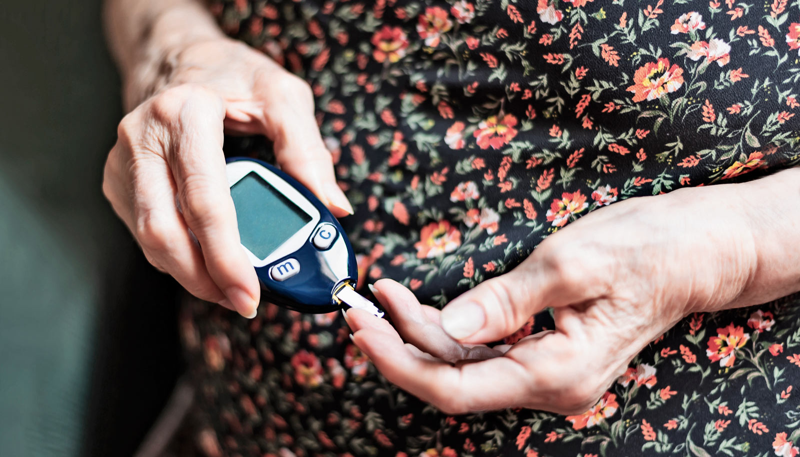 Older adults better handle stress of type 2 diabetes