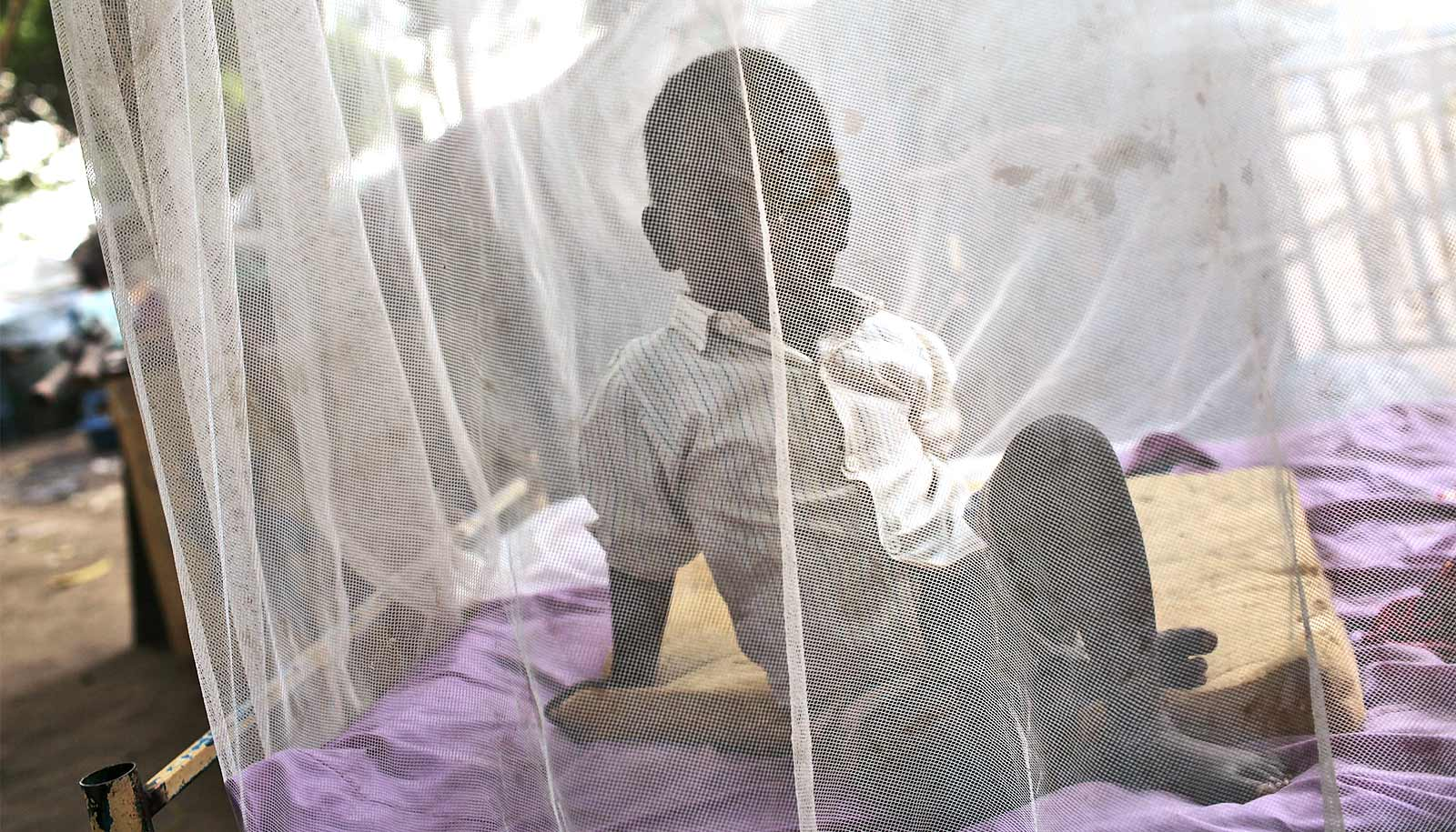 Bed nets with extra layer better shield against malaria