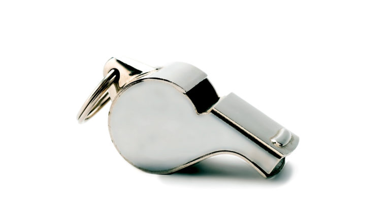 silver whistle