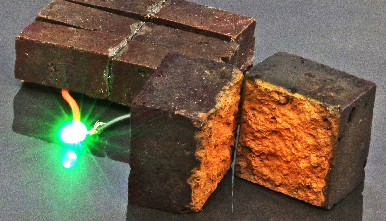 Red bricks can store energy just like batteries - Futurity