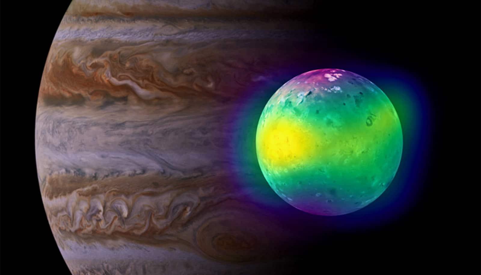 Volcanoes feed the atmosphere on Jupiter's moon Io - Futurity