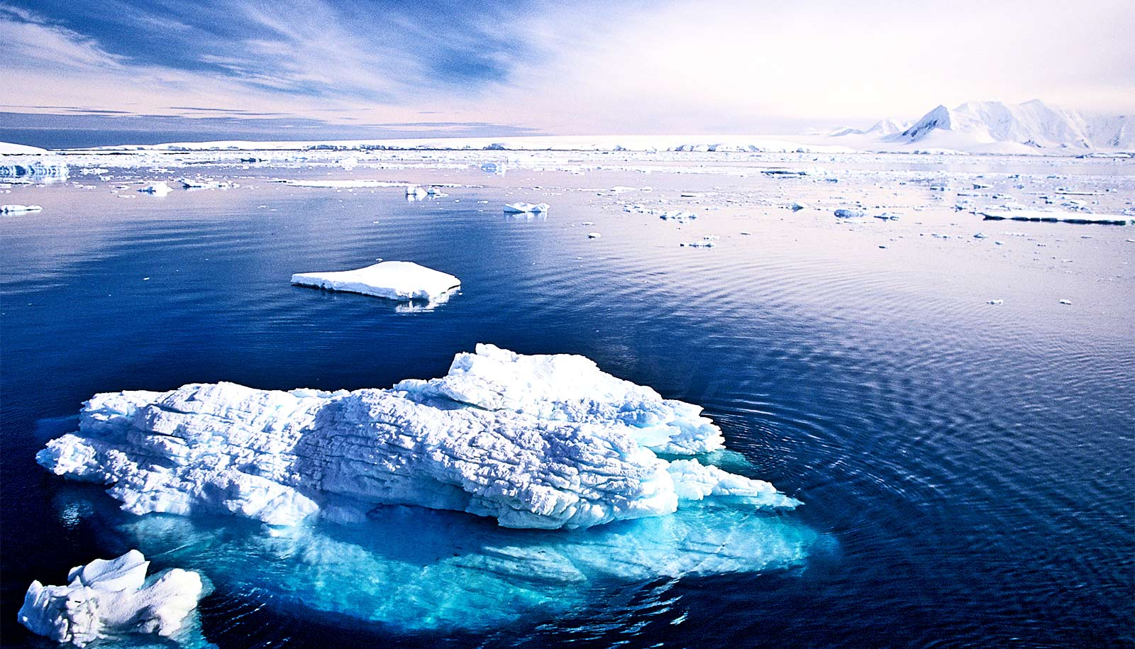 Ice sheets 'talk' to each other across the planet - Futurity: Research News
