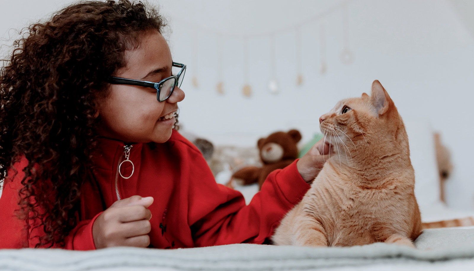 Cats Can Help Autistic Kids