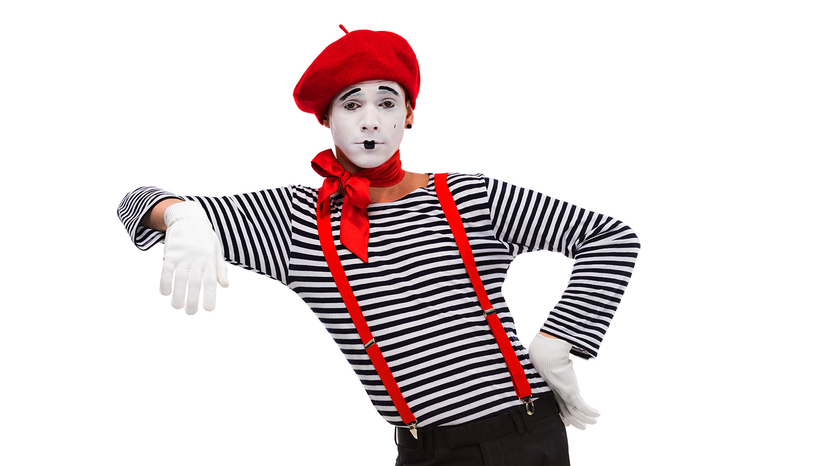 Mimes get us to 'see' things that aren't there - Futurity